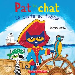 Pat le chat : La carte au trésor