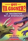 Qui va gagner? Le tricératops ou le spinosaure?