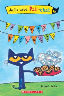 Je lis avec Pat le chat : La vente de biscuits
