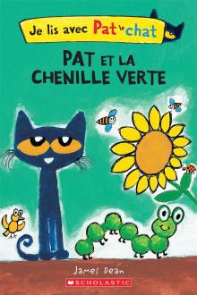 Je lis avec Pat le chat : Pat et la chenille verte