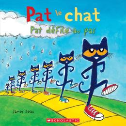 Pat le chat : Pat défile au pas