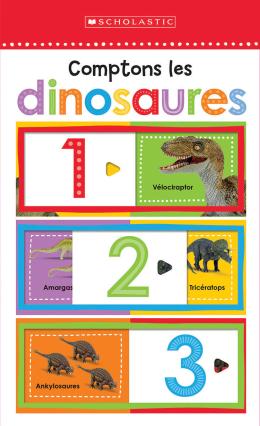 Apprendre avec Scholastic : Comptons les dinosaures