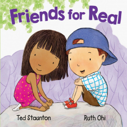 Friends For Real book cover