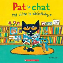 Pat le chat : Pat visite la bibliothèque