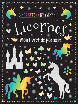 Gratte et dessine : Licornes