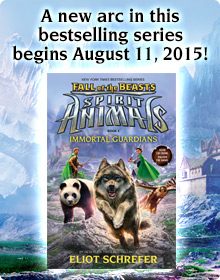 A new arc in this bestselling series begins August 11, 2015!