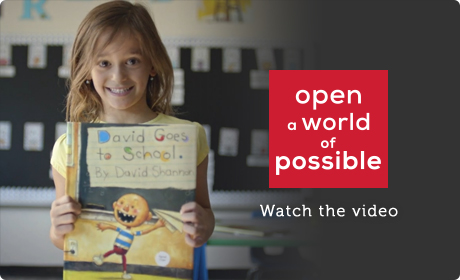 Open a World of Possible.