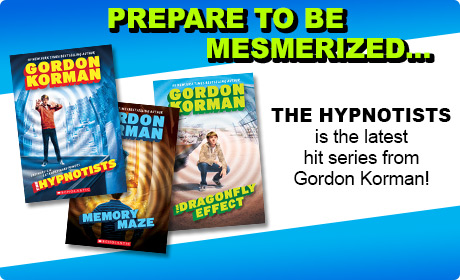 The Hypnotists is the latest hit series from Gordon Korman!