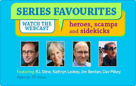 Watch the Heroes, Scamps and Sidekicks webinar!