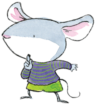 Character illustration of a mouse